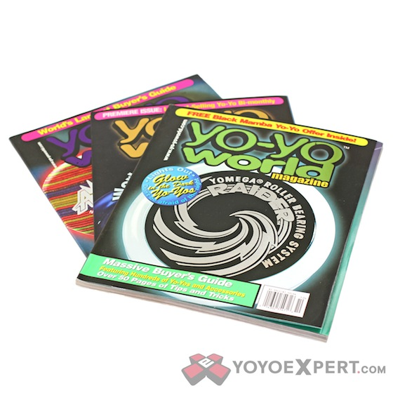 Yo-Yo World Magazine (Set of 3)