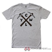 CLYW Gray PickAxe Logo T-Shirt