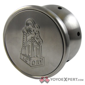 YYF Stainless Steel Whistling Yo-Yo