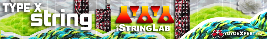Yo-Yo String Lab - Type X String - 10 Pack