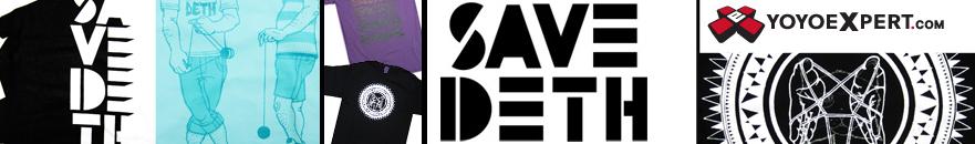 SAVE DETH Star Logo T-Shirt