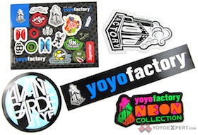 YoYoFactory Sticker Pack