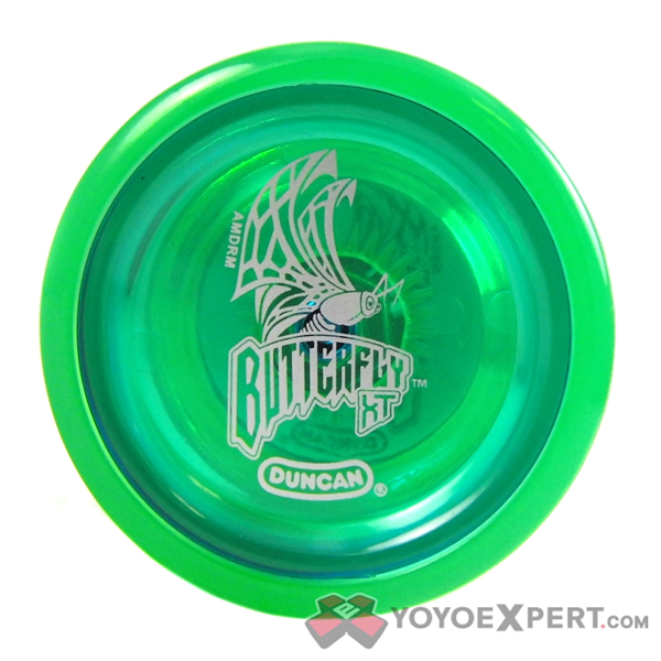 duncan butterfly yoyo how to open