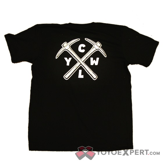 CLYW Black PickAxe T-Shirt