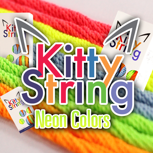 Kitty String - 100 Count (NEON Pack)