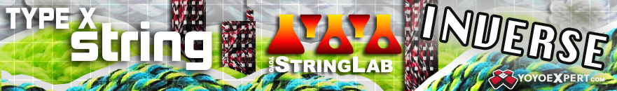 Yo-Yo String Lab | INVERSE | Type X String - 10 Pack