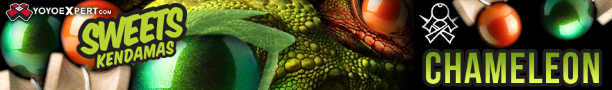 Sweets Kendama - Chameleon